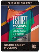 Urban T-Shirt Mockups - 2