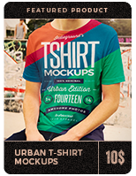 Urban T-Shirt Mockups - 3