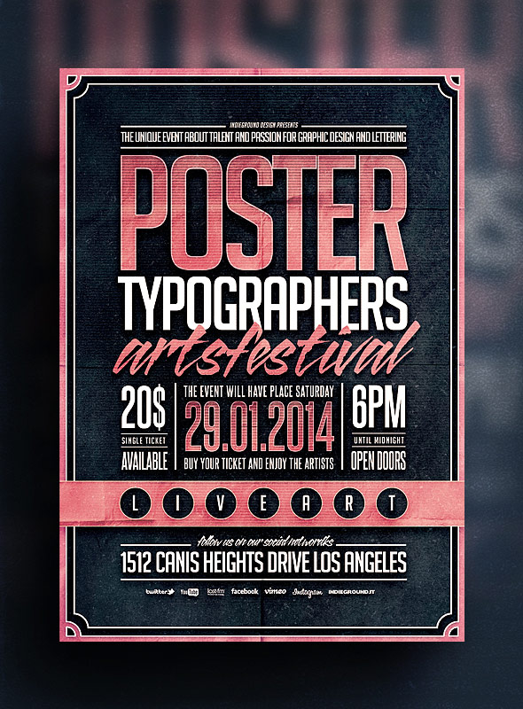 Amazing Typography Flyer Gallery  Best Resume Examples By Industry