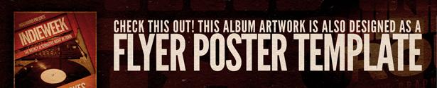 Indie CD Album Artwork