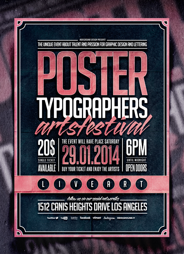 portfolio indieground typography vol 2