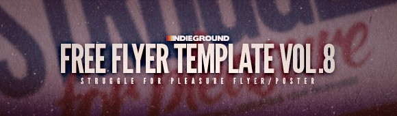 Freebies Indieground Graphic Design Blog Flyer Templates – Band Flyer Template
